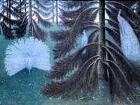 """""""Τα παγώνια"""" του William Degouve de Nuncques"""