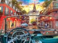 I New Orleans.