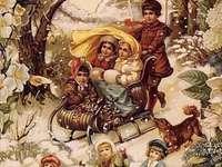 zimní dětské radovánky