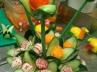 decoratie van groenten