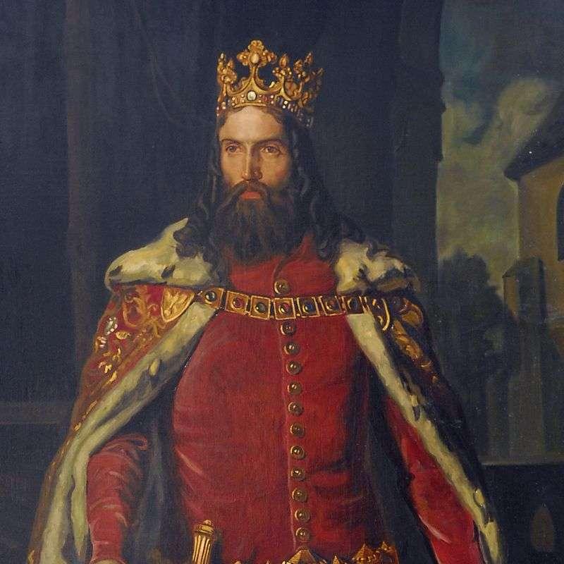 Kazimierz - Kazimír Veliký, král Polska (7×7)