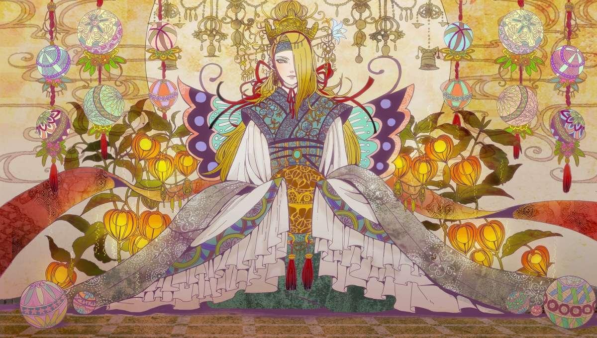 Prințul deidara - Personajul lui Kishimoto, Masashi, atribuie artistului care este artistul acestei imagini (19×11)