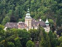 Schloss im Nationalpark Ungarn