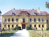 Eckartsau Castle in Hungary