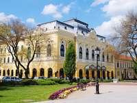 Csongrad Stadt in Ungarn