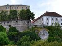 Veszprem Castle in Hungary