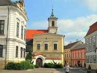 Città di Veszprem in Ungheria