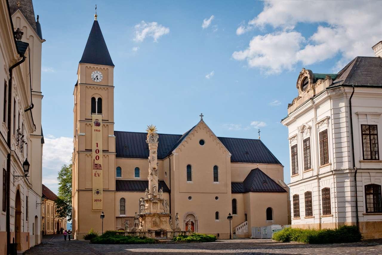 Ville de Veszprem en Hongrie
