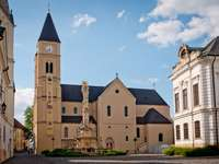 Veszprem city in Hungary