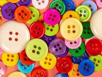 scattered colored buttons