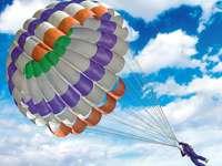 Parachuting, Clouds