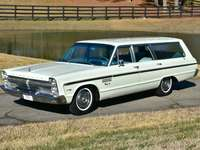 1965 Plymouth Fury Station Wagon