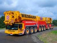 Голям мобилен кран Wiesbauer