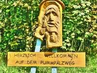 Eisenach nära Rennsteig