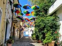 Místo umělce Szentendre v Maďarsku