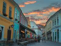Szentendrei művész helye Magyarországon