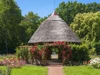 Szeged Park Pavillon in Ungarn
