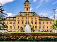 Szegedské město v Maďarsku