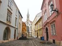 Město Sopron v Maďarsku