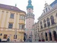 Sopron Stadt in Ungarn