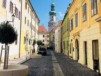 Ciudad de Sopron en Hungría