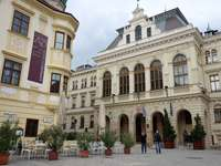 Sopron stad in Hongarije