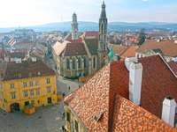 Città di Sopron in Ungheria