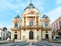 Città di Pecs in Ungheria
