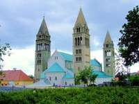 Pecs stad in Hongarije