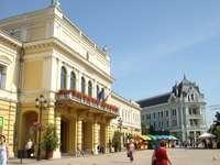 Nyiregyhaza stad i Ungern