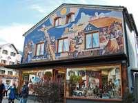 malovaný dům - Německo