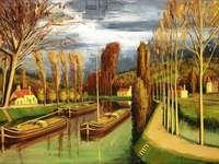 """""""la Seine"""" (1973) Bernarda BUFFETA"""