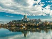 Esztergom Dom Innen in Ungarn