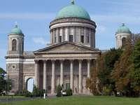 Εσωτερικό καθεδρικών ναών Esztergom στην Ουγγαρία