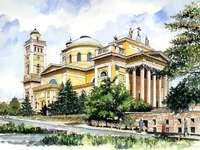 Eger Magyarország festménye