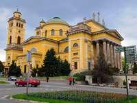 Catedral de Eger en Hungría