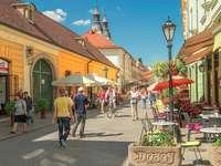 Ville d'Eger en Hongrie