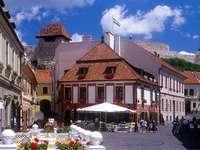 Cidade Eger na Hungria