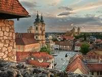Ciudad de Eger en Hungría