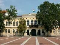Ciudad de Bekescsaba en Hungría