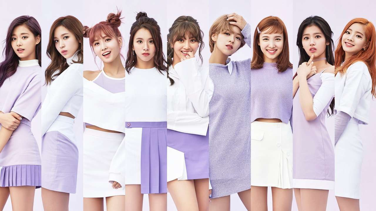 Twice puzzle - It's the k-pop group called Twice (12×7)