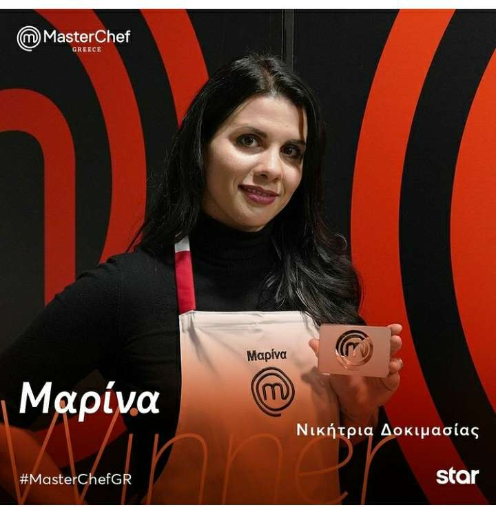 Marina and the immunity card - This Monday Marina was the one who had won the immunity card! Will it save someone? If so, who do you trust? MasterChef Greece (2×3)