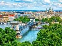 Pejzaż Budapeszt Węgry
