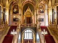 Сграда на парламента в Будапеща в Унгария