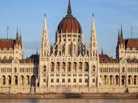 Κτήριο του Κοινοβουλίου της Βουδαπέστης Ουγγαρία