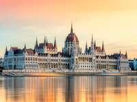 Сграда на парламента в Будапеща Унгария