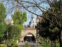 Budapest Park Varosliget Hongarije
