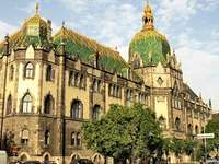 Museo de Artes Aplicadas de Budapest Hungría