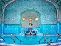 Budapest Hotel Gellert Spa in Hungary