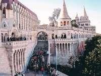 Budapest Fischerbastei in Ungarn